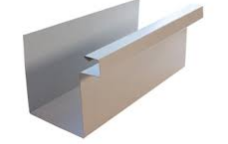 Box Gutter Made per Specifications Aluminum, Copper, Steel