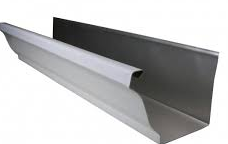 K Style Gutter 5, 6, 7, 8 Inch Aluminum, Copper, Galvalume, Galvanized
